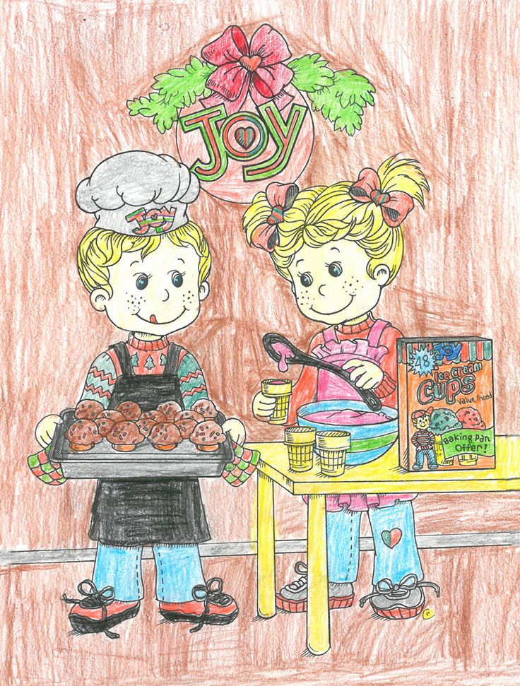 Joy Coloring Sweepstakes entry from Madison age 10 from MN! #bringJOYhome #coloring #icecreamcones #holidays