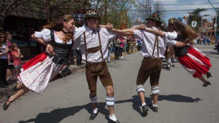 OKTOBERFEST. La celebración en Villa General Belgrano (LaVoz).