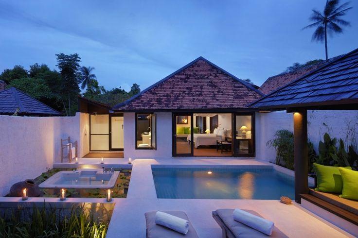 Evason Pool Villa exterior at Evason Hua Hin, Thailand. http://www.sixsenses.com/evason-resorts/hua-hin/accommodation/rooms-and-suites