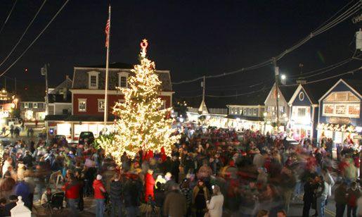 Kennebunkport, ME Christmas PreludeChristmas Time, Christmas Prelude, 50 States, Favorite Places, Christmas Scene, Christmas Lights, Christmas Holiday, Maine Christmas, Coastal Christmas