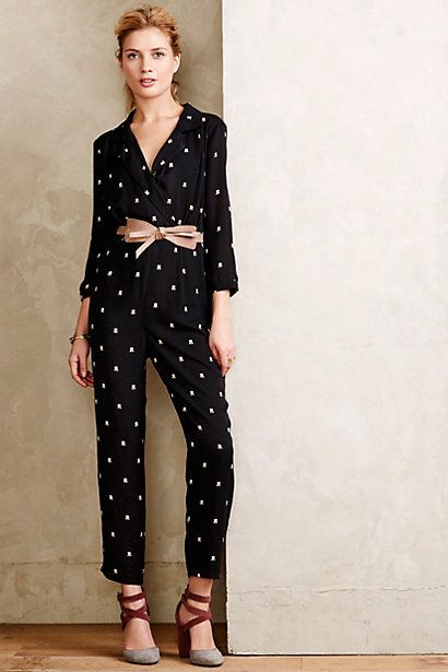Dietrich Printed Jumpsuit - anthropologie.com