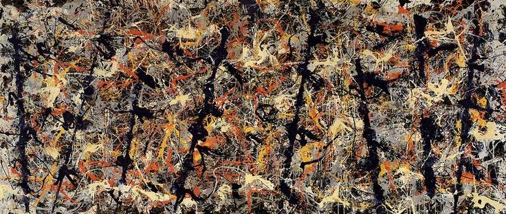 Jackson Pollock, Blue Poles,