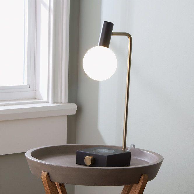 Miked Charge Led Desk Lamp In 2020 Led Desk Lamp Desk Lamp Contemporary Desk Lamps