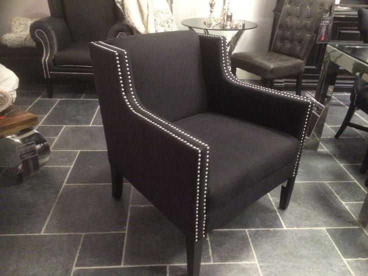 Luxury Sessel schwarz.