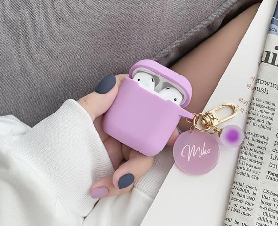 Custom Name Airpods 1 And 2 Case Name Airpods Case Personalized Gift Air Pod Case Clear Air Pod Case Personalized With Name Cu Custom Case Airpod Case Air Pods