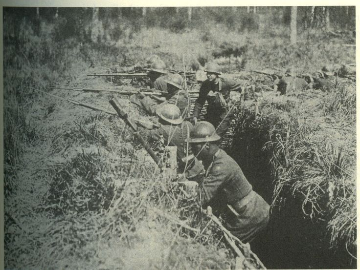 Harlem Hellfighters in the Trenches