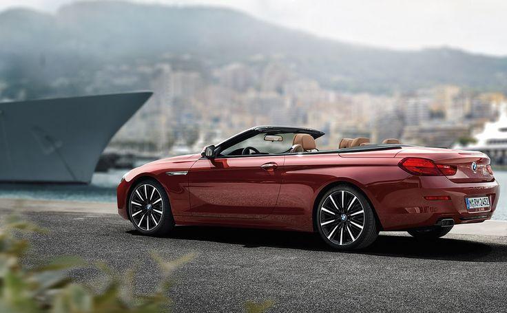 BMW 6 Series Convertible : Start page