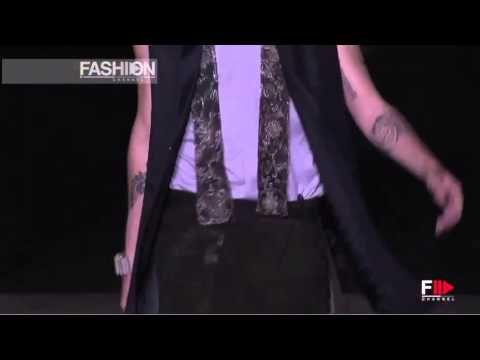 MAISON MARTIN MARGIELA Spring Summer 2014 Menswear Paris HD by Fashion C...