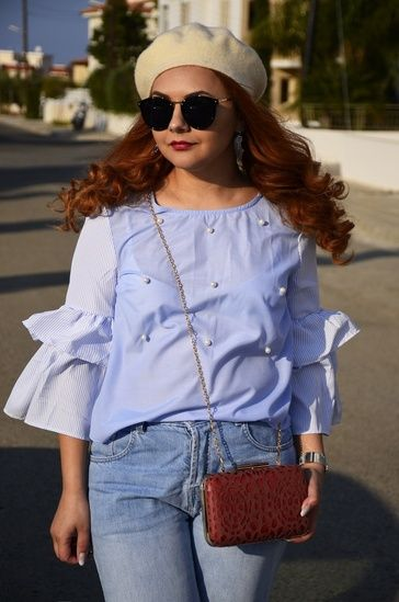 #ShopStyle #shein #bellsleeves #beret #outfit #shopthelook #MyShopStyle #WeekendLook #OOTD