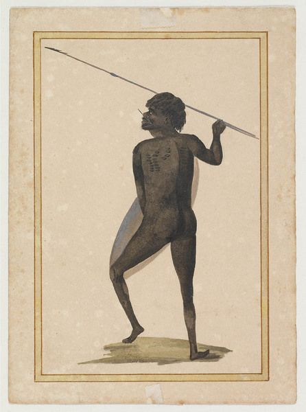 Australian Aborigines, pre 1806 / attributed to George Charles Jenner and W.W. [William Waterhouse]CreatorJenner, George Charles Waterhouse, William, 1752?-1822 Level of DescriptionCollectionDate of Workpre 1806Type of MaterialGraphic MaterialsCall NumberDGB 10