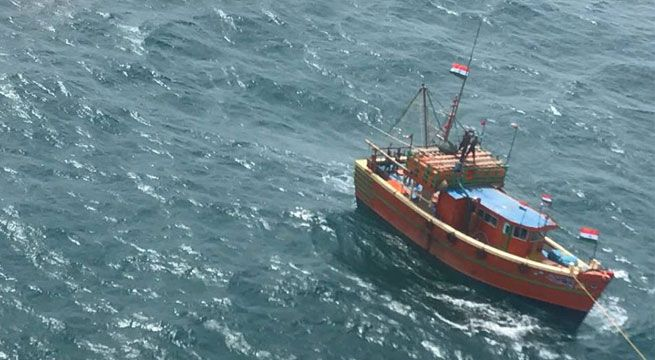"Kolkata: Indian Coast Guard on Tuesday saved 14 lives on receipt of an SOS call from assistant director Fisheries,Contai. The boat ""sandhya"" was adrift 55 nm from Paradip Light House. The ICG Regional headquarters diverted ICGS Razia Sultana on patrol to carry out extensive search of the missing..."