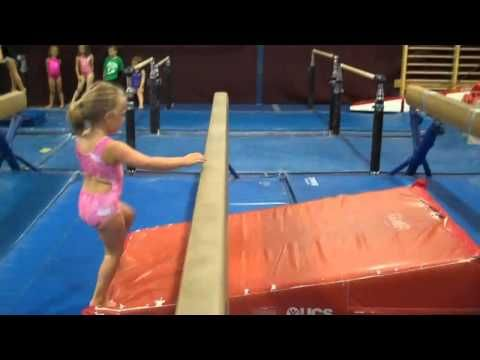 handstand press drills...this little girl is so cute