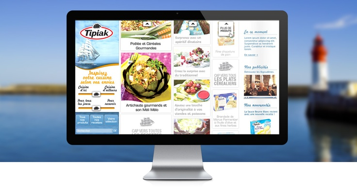 Tipiak  http://www.tipiak.fr  +325% de trafic