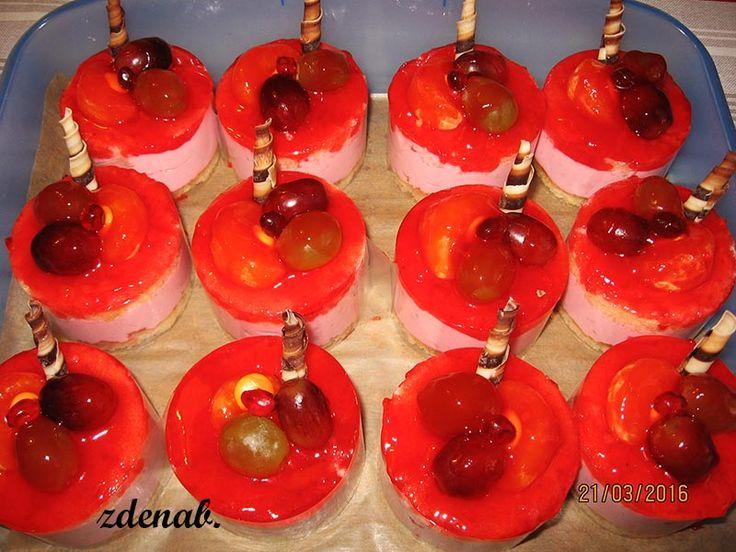 ovocné dortíčky
