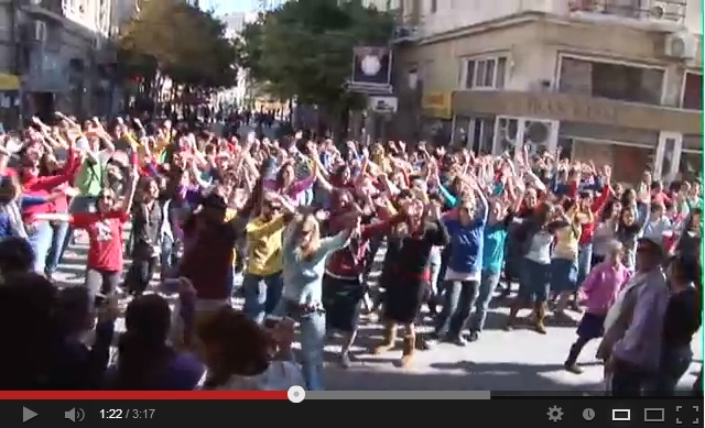 Okay, so we can't guarantee that you'll see this when you visit Israel. (Honestly, the chances are pretty low.) But you have to admit that this is one awesome flashmob - and it was the first one ever done in Jerusalem!