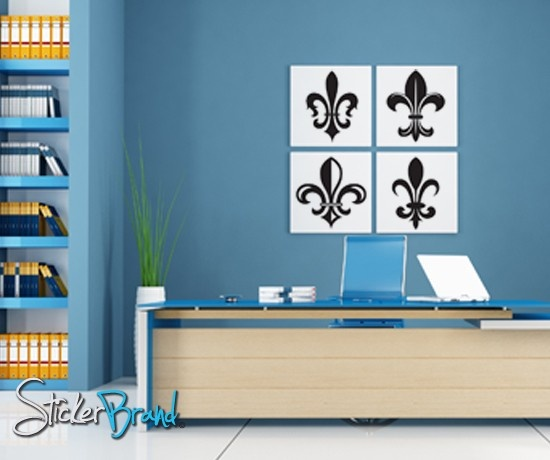 Fleur De Lis · French BedroomsWall Decal ... Part 62
