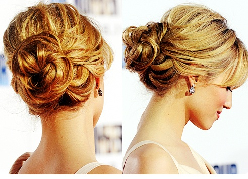 Low Loose Bun Hairstyles Picturesso