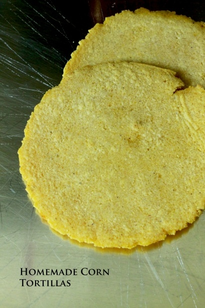 homemade corn tortillas | Favorite Recipes | Pinterest