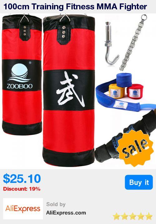 100cm Training Fitness MMA Fighter Boxing Bag Hook Hanging Bag Sport Sand Punch Punching Bag Sandbag Saco Boxeo * Pub Date: 16:10 Sep 13 2017
