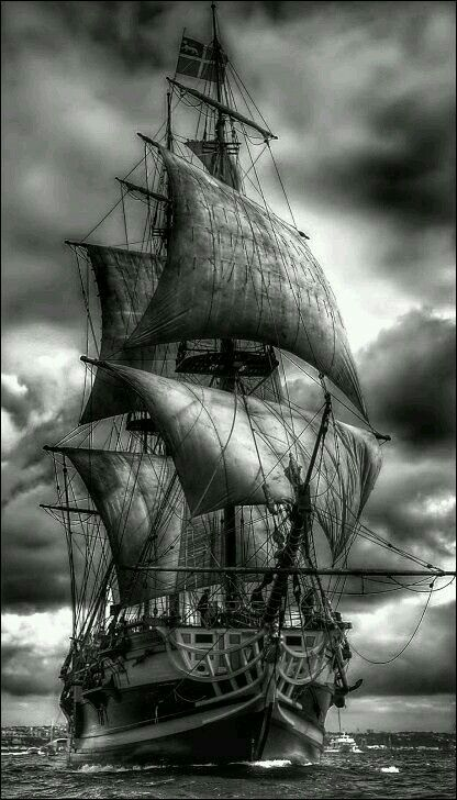 i really like this one. maybe more beat up sails though to kind of look like the Black Pearl