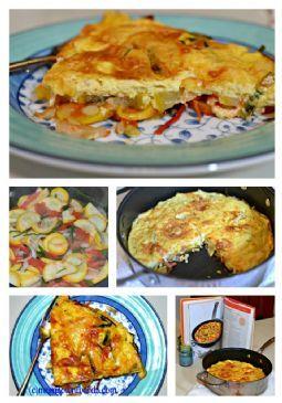 Digest Diet - Tri-Color Frittata Recipe