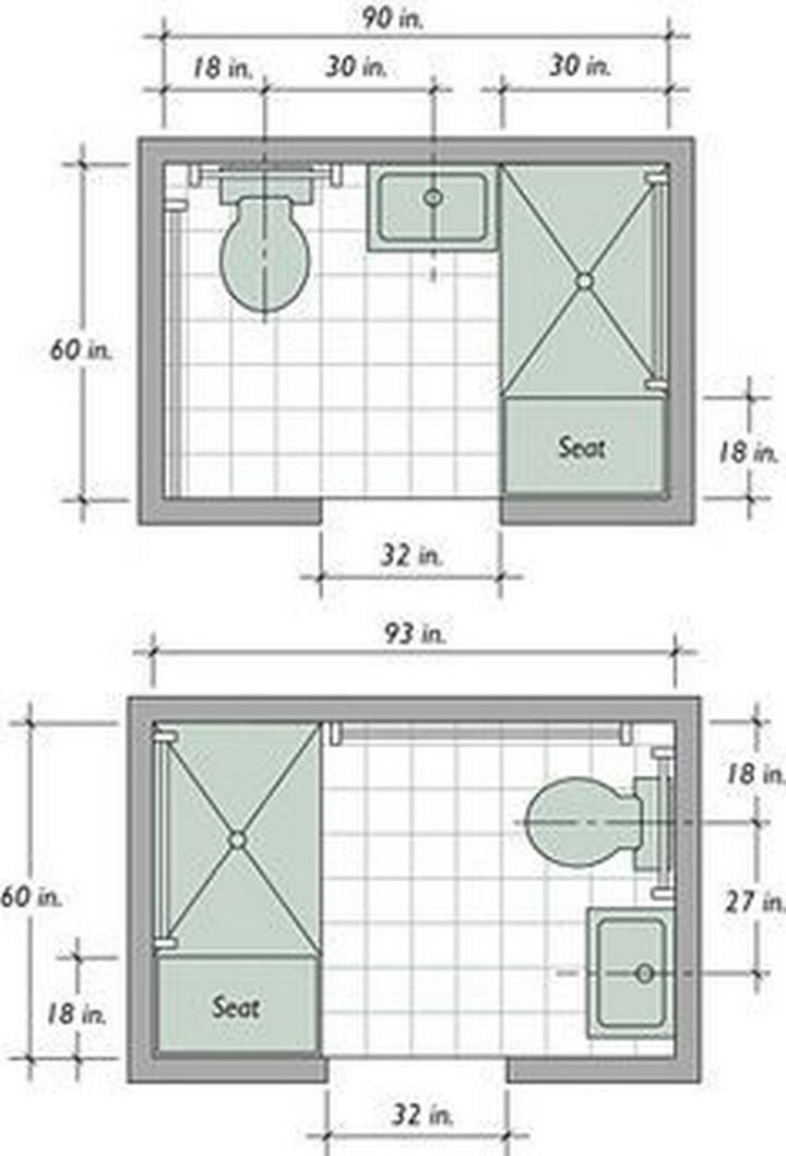 95 Nice Small Full Bathroom Layout Ideas Small Bathroom Layout