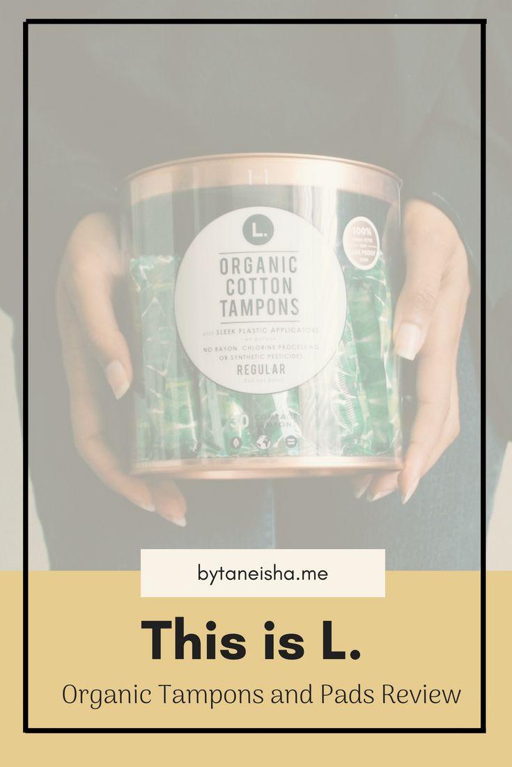 L Organic Pads >> L Organic Tampons Review Medicine Womens Wellness Period Pads