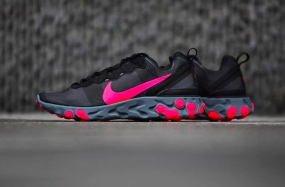 c7a132e1ea How Do You Like The Nike React Element 55 Solar Red | Dr Wongs ...