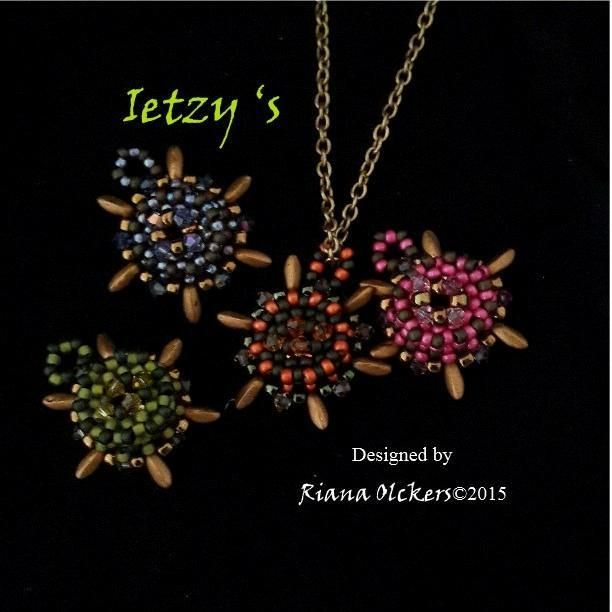 Looking for your next project? You're going to love Bead Tutorial - Ietzy's Pendant Pattern by designer Rani's Beadwork. - via @Craftsy