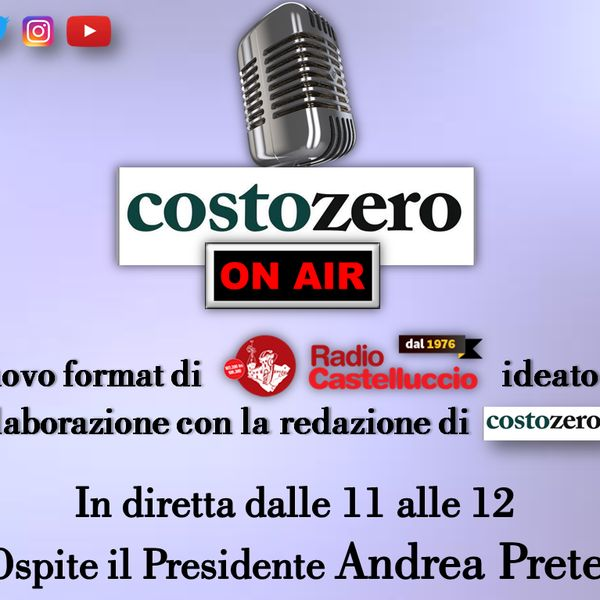 "Check out ""A Radio Castelluccio Parte il nuovo format  #CostozeroOnAir!"" by Radio Castelluccio on Mixcloud"