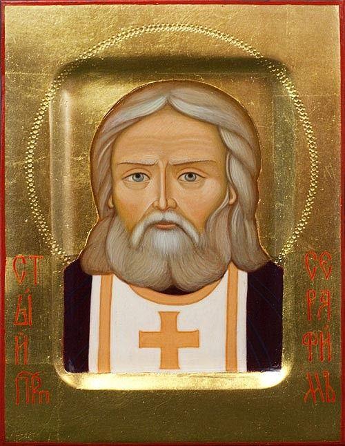 St Seraphim of Sarov - Painted Icons - Icons & Crosses…