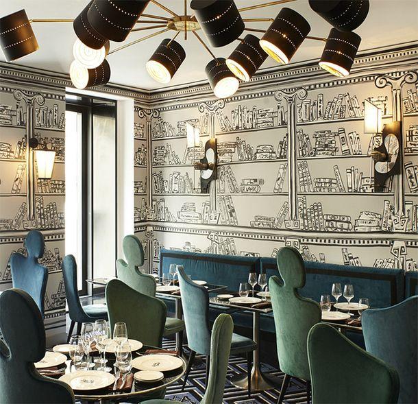 Богемный отель в Париже