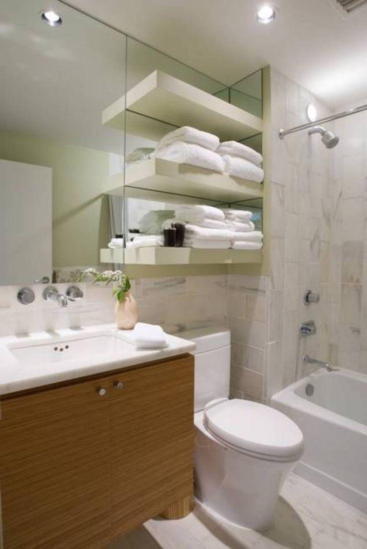 25+ best Small full bathroom ideas on Pinterest | Tiles design for hall, Bathroom towels and ...