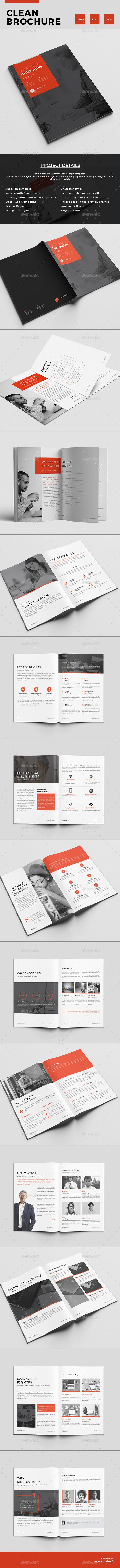 Brochure — InDesign INDD #company #professional • Download ➝ https://graphicriver.net/item/brochure/19445964?ref=pxcr