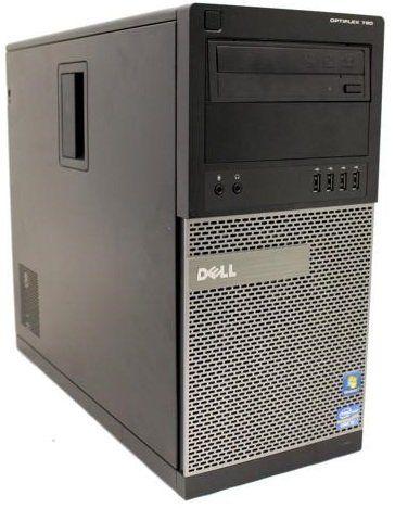 Dell Optiplex 790 High Performance Desktop Computer MiniTower, Intel Core i5-2400 Processor up to 3.4GHz, 8GB RAM, 2TB HDD + 120GB SSD, DVD, WiFi, Windows 10 Pro 64 bit (Certified Refurbished)