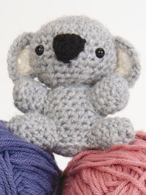 womans day had some cute patterns for cuddly crochet critters some time ago... some day I will try to crochet the turtle or penquin...