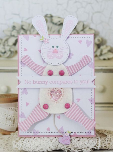 No Bunny Compares Card by Melissa Phillips for Papertrey Ink (December 2016)
