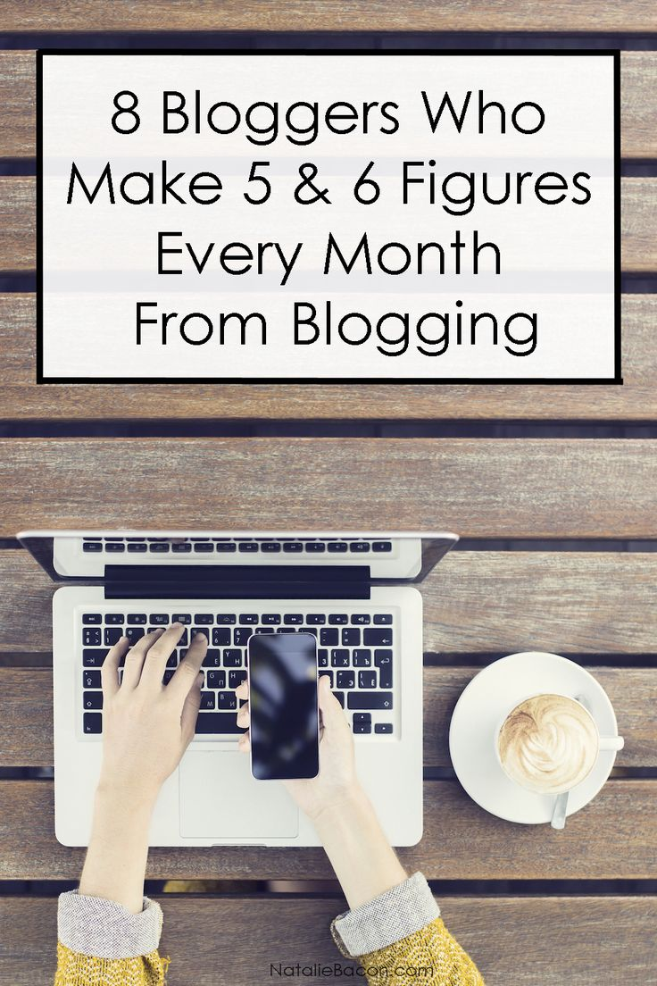 8 Bloggers Who Make 5 & 6 Figures Every Month From Blogging and Their Income Reports   Natalie Bacon