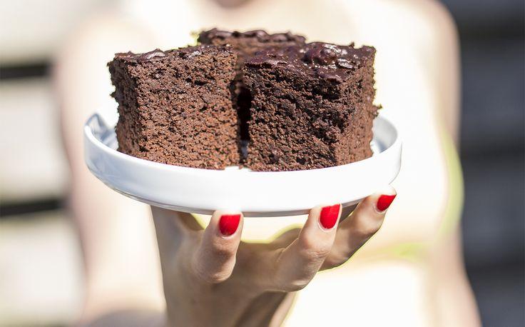 Zwarte bonen brownie - Miss Puur