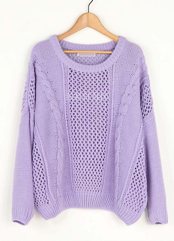 Lavender: Loose Sweater, Cute Sweaters, Sweaters Weather, Fall Sweaters, Fall Fashion Purple, Colors Knits Sweaters, Cozy Sweaters, Combat Boots, Lavender Sweaters