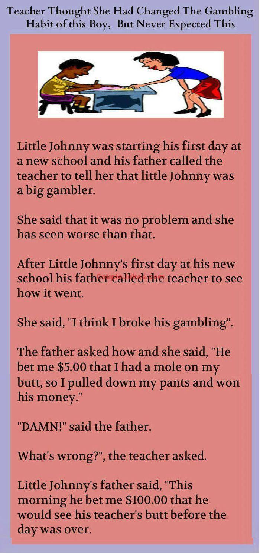 This Kid Had A Bad Habit Of Gambling Smart Jokes Gambling Quotes Gambling