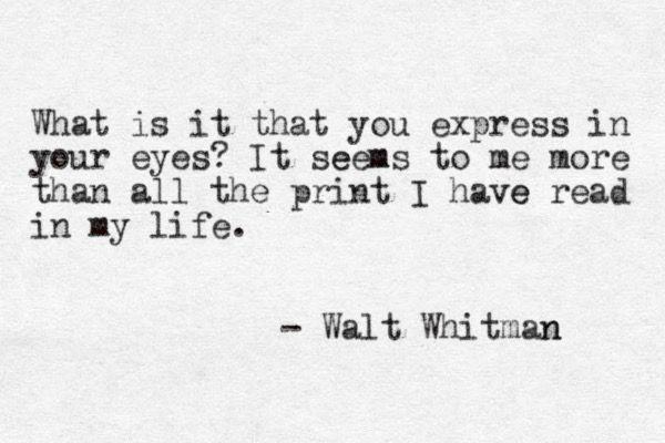 Poetry | Walt Whitman
