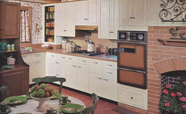 1960s ranch style decor 1960s plus share home for Ranch style kitchen