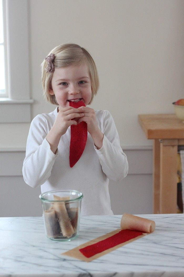 DIY fruit leather makes happy kids, gardenista