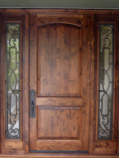 21 best porte du0027entrée images on Pinterest Entrance doors, Front - renover une porte d entree en bois