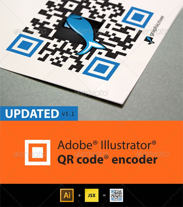QR Code generator for Illustrator  #GraphicRiver           Surveys show that number of scaned codes is increasing significantly every year due to increasing number of smartphones and tablet users. Today QR Codes can be used in Google's Android, BlackBerry OS and Apple iOS devices (iPhone/iPod/iPad), as well as Microsoft's Windows Phone operating system, Google Goggles, 3rd party barcode scanners, and the Nintendo 3DS. The browser supports URL redirection, which allows QR codes to send…