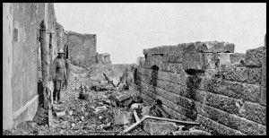 WWI, 1916, Fort Vaux, Verdun