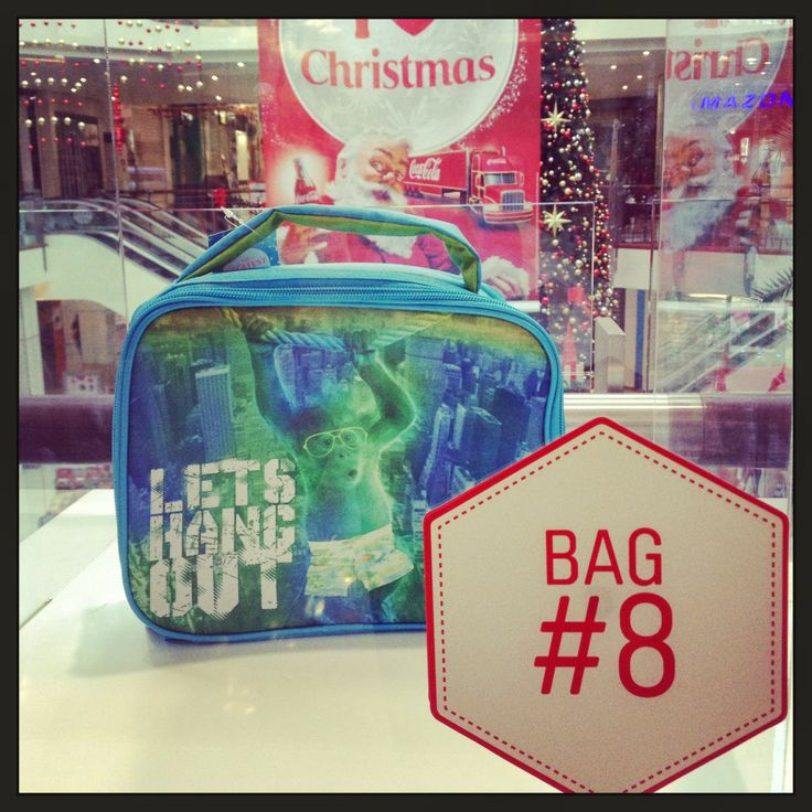 Bag EIGHT is down at @Pumpkin Patch Kids  Get your hands on this awesome lunchbag! Perfect for any wee fella to take to kindy... Or #WestfieldStLukes Shoppers Creche!
