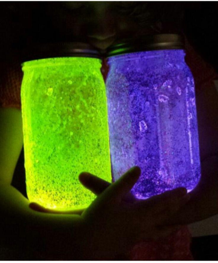 DIY Sparkle Fairy Jars!