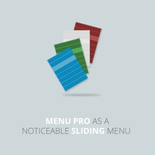 Colorful default themes and customizable CSS allow you to easily create menu in many styles. The menu is extremely space-saving and fun to watch. Submenus will slide to the left or to the right depending on which menu item we are hovering. Demo: http://extstore.com/demo#jquery-slide-menu